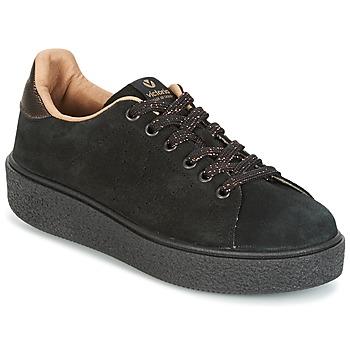 Παπούτσια Γυναίκα Χαμηλά Sneakers Victoria DEPORTIVO SERRAJE P. NEGRO Black