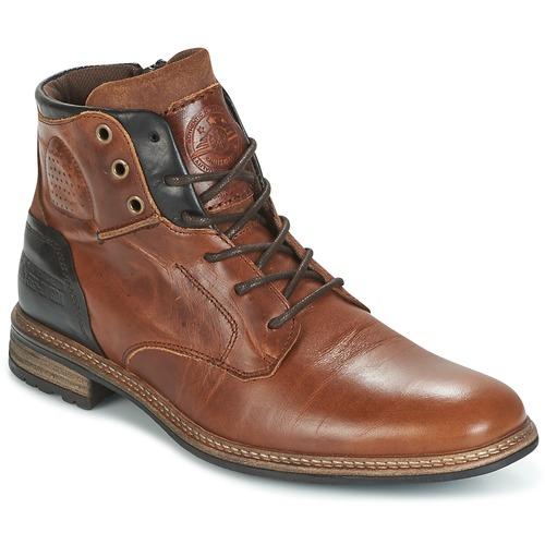 Παπούτσια Άνδρας Μπότες Bullboxer MOHA COGNAC