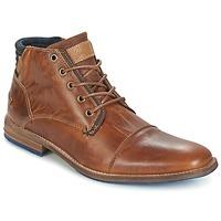 Παπούτσια Άνδρας Μπότες Bullboxer MESSI COGNAC