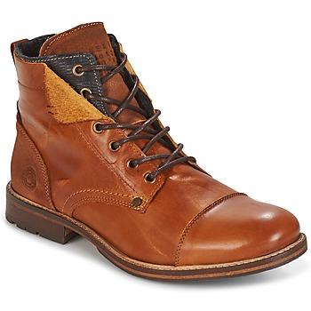 Παπούτσια Άνδρας Μπότες Bullboxer BEN Cognac