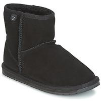Παπούτσια Παιδί Μπότες EMU WALLABY MINI Black