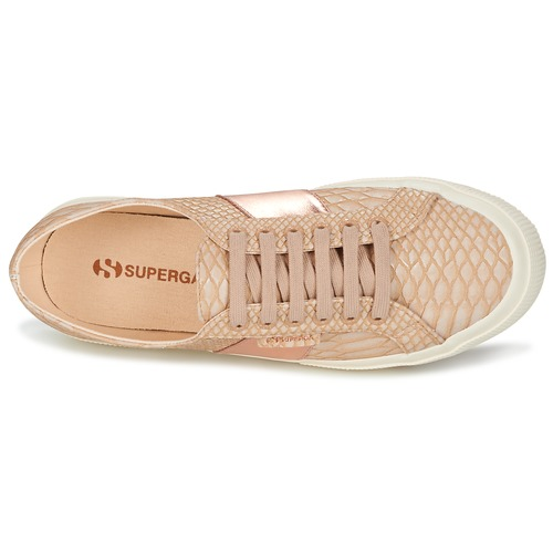 2750 PU SNAKE W  Superga  χαμηλά sneakers  woman  nude