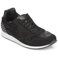 Παπούτσια Γυναίκα Χαμηλά Sneakers Ippon Vintage RUN VELVET Black