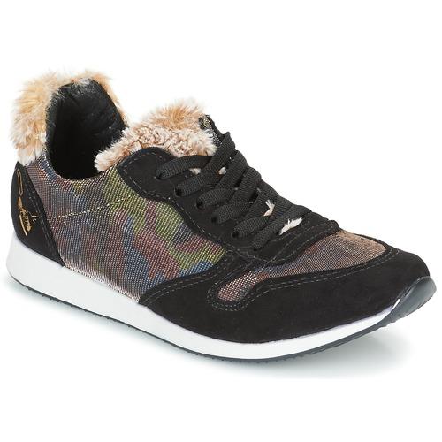 Παπούτσια Γυναίκα Χαμηλά Sneakers Ippon Vintage RUN SNOW Black / Cuivré