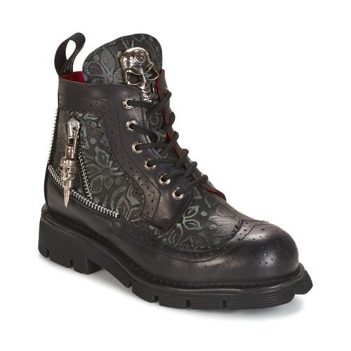 Παπούτσια Μπότες New Rock MORTY Black
