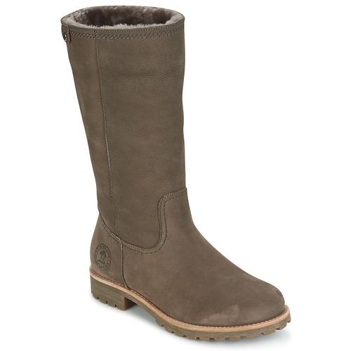 Παπούτσια Γυναίκα Μπότες για την πόλη Panama Jack BAMBINA Grey