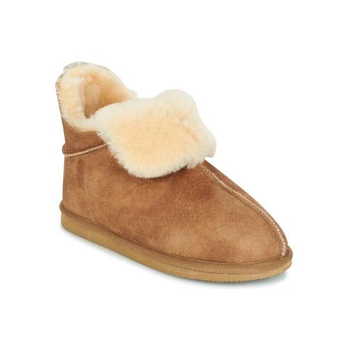 Παπούτσια Γυναίκα Παντόφλες Shepherd DANA Brown