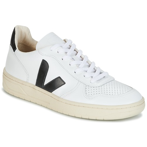 Παπούτσια Χαμηλά Sneakers Veja V-10 Άσπρο / Black