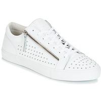 Παπούτσια Άνδρας Χαμηλά Sneakers Jim Rickey ZED STUDS άσπρο / Argenté