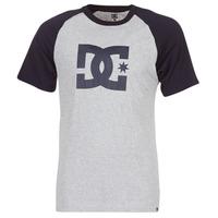 Υφασμάτινα Άνδρας T-shirt με κοντά μανίκια DC Shoes STAR RAGLAN SS Black / Grey