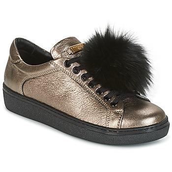 Παπούτσια Γυναίκα Χαμηλά Sneakers Tosca Blu CERVINIA POM PON Black