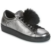 Παπούτσια Γυναίκα Χαμηλά Sneakers Tosca Blu CERVINIA POM PON Silver