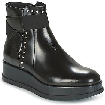 Παπούτσια Γυναίκα Μπότες Tosca Blu CIVETTA ABRASIVATO Black