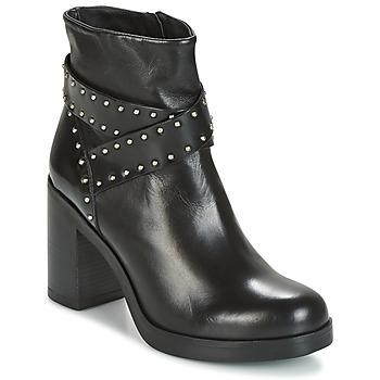 Παπούτσια Γυναίκα Μποτίνια Tosca Blu ST.MORITZ Black
