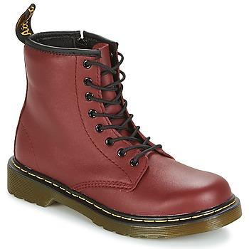 Παπούτσια Παιδί Μπότες Dr Martens DELANEY Red / Cherry