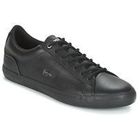 Παπούτσια Άνδρας Χαμηλά Sneakers Lacoste LEROND 4 Black / Άσπρο