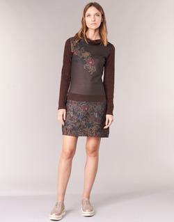 Υφασμάτινα Γυναίκα Κοντά Φορέματα Smash NANCY Brown