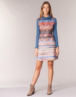 Υφασμάτινα Γυναίκα Κοντά Φορέματα Smash KRIVAN Multicolore