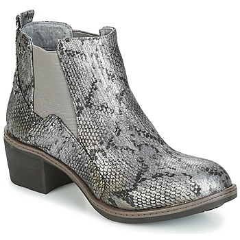 Παπούτσια Γυναίκα Μποτίνια Les P'tites Bombes CAROLE Grey