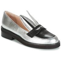 Παπούτσια Γυναίκα Μοκασσίνια Minna Parikka LONG EARS Silver
