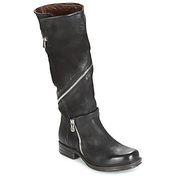 Παπούτσια Γυναίκα Μπότες για την πόλη Airstep / A.S.98 SAINT EC ZIP Black