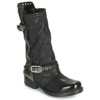 Παπούτσια Γυναίκα Μπότες για την πόλη Airstep / A.S.98 SAINT EC BUCKLE Black