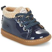 Παπούτσια Κορίτσι Μπότες Shoo Pom BOUBA WOOL Marine / Beige