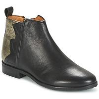 Παπούτσια Κορίτσι Μπότες Adolie ODEON WILD Black / Platinum