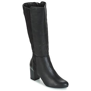 Παπούτσια Γυναίκα Μπότες για την πόλη Moony Mood GINA Black