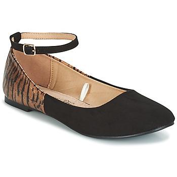 Παπούτσια Γυναίκα Μπαλαρίνες Moony Mood GLIMY Black