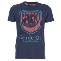 Υφασμάτινα Άνδρας T-shirt με κοντά μανίκια Petrol Industries TIRCO Marine