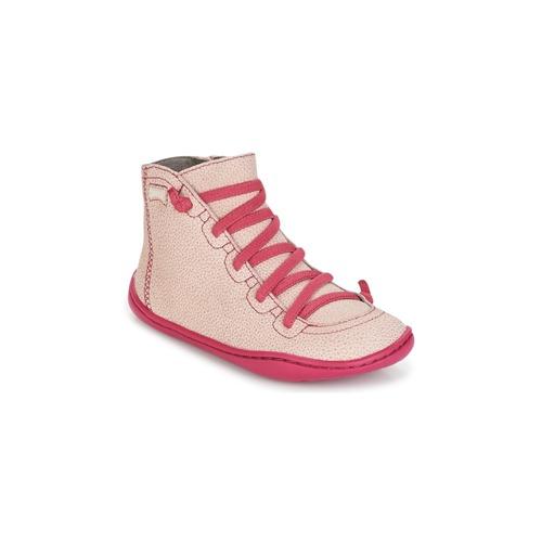 Παπούτσια Κορίτσι Ψηλά Sneakers Camper PEU CAMI ροζ