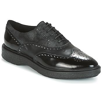 Παπούτσια Γυναίκα Derby Geox D PRESTYN Black