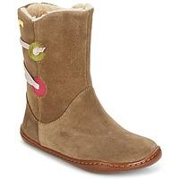 Παπούτσια Κορίτσι Μπότες Camper TWS Brown