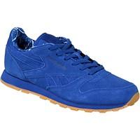 Παπούτσια Παιδί Χαμηλά Sneakers Reebok Sport Classic Leather TDC Bleu
