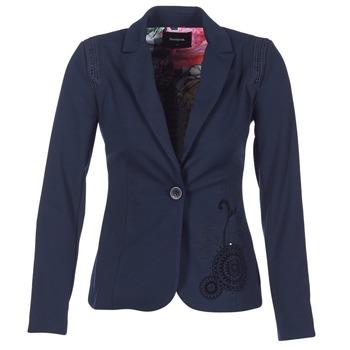 Υφασμάτινα Γυναίκα Σακάκι / Blazers Desigual GROFA MARINE