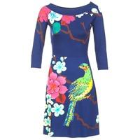 Υφασμάτινα Γυναίκα Κοντά Φορέματα Desigual MARTA μπλέ