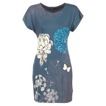 Υφασμάτινα Γυναίκα Κοντά Φορέματα Desigual MARTI Μπλέ