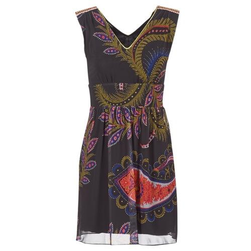 Υφασμάτινα Γυναίκα Κοντά Φορέματα Desigual GERCO Multicolore