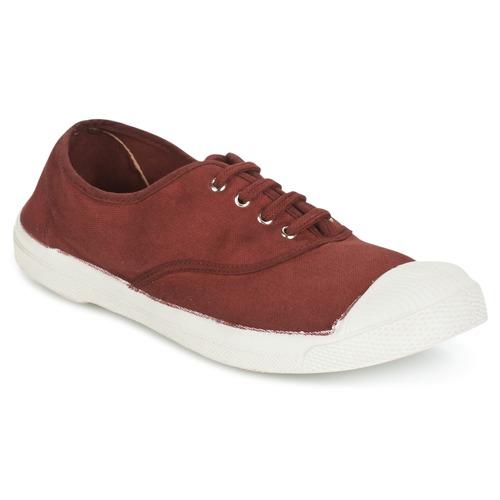 Παπούτσια Γυναίκα Χαμηλά Sneakers Bensimon TENNIS LACET Lie /  de / Vin