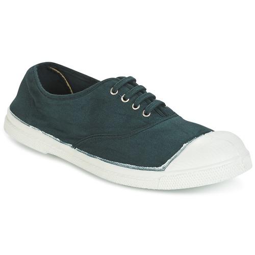 Παπούτσια Γυναίκα Χαμηλά Sneakers Bensimon TENNIS LACET Green / Fonce