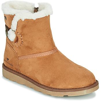 Παπούτσια Κορίτσι Μπότες Tom Tailor JAVILOME Brown