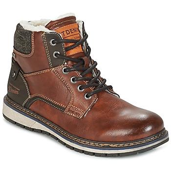 Παπούτσια Άνδρας Μπότες Tom Tailor LORENZA Brown