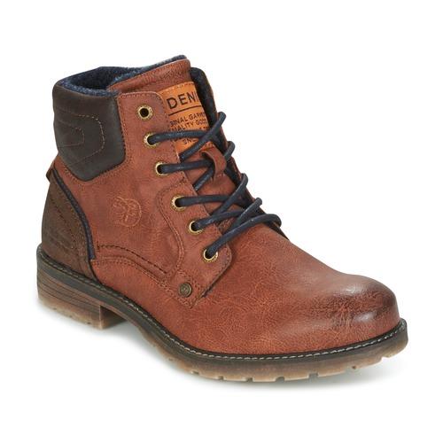 Παπούτσια Άνδρας Μπότες Tom Tailor TIAGO Brown