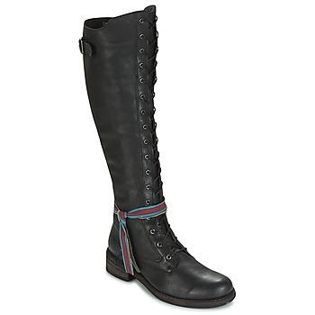 Παπούτσια Γυναίκα Ψηλές μπότες Felmini HARDY Black