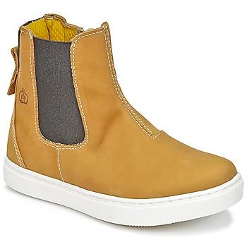 Παπούτσια Αγόρι Μπότες Citrouille et Compagnie HACHOU Brown