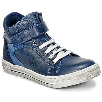 Παπούτσια Αγόρι Ψηλά Sneakers Citrouille et Compagnie HOCHOU Marine