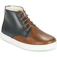 Παπούτσια Αγόρι Μπότες Citrouille et Compagnie HILABOUL Brown / Marine