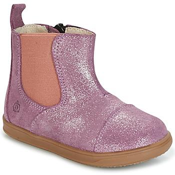 Παπούτσια Κορίτσι Μπότες Citrouille et Compagnie HUETTE Ροζ