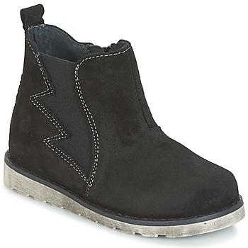 Παπούτσια Αγόρι Μπότες Citrouille et Compagnie HISSA Black